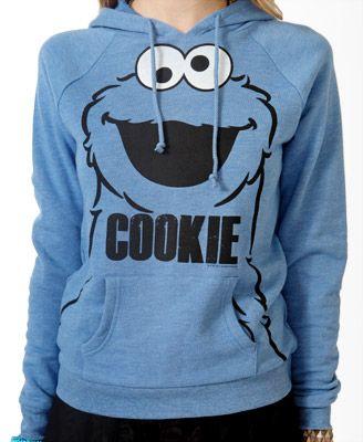 c859d280b Cookie Monster Pullover Hoodie