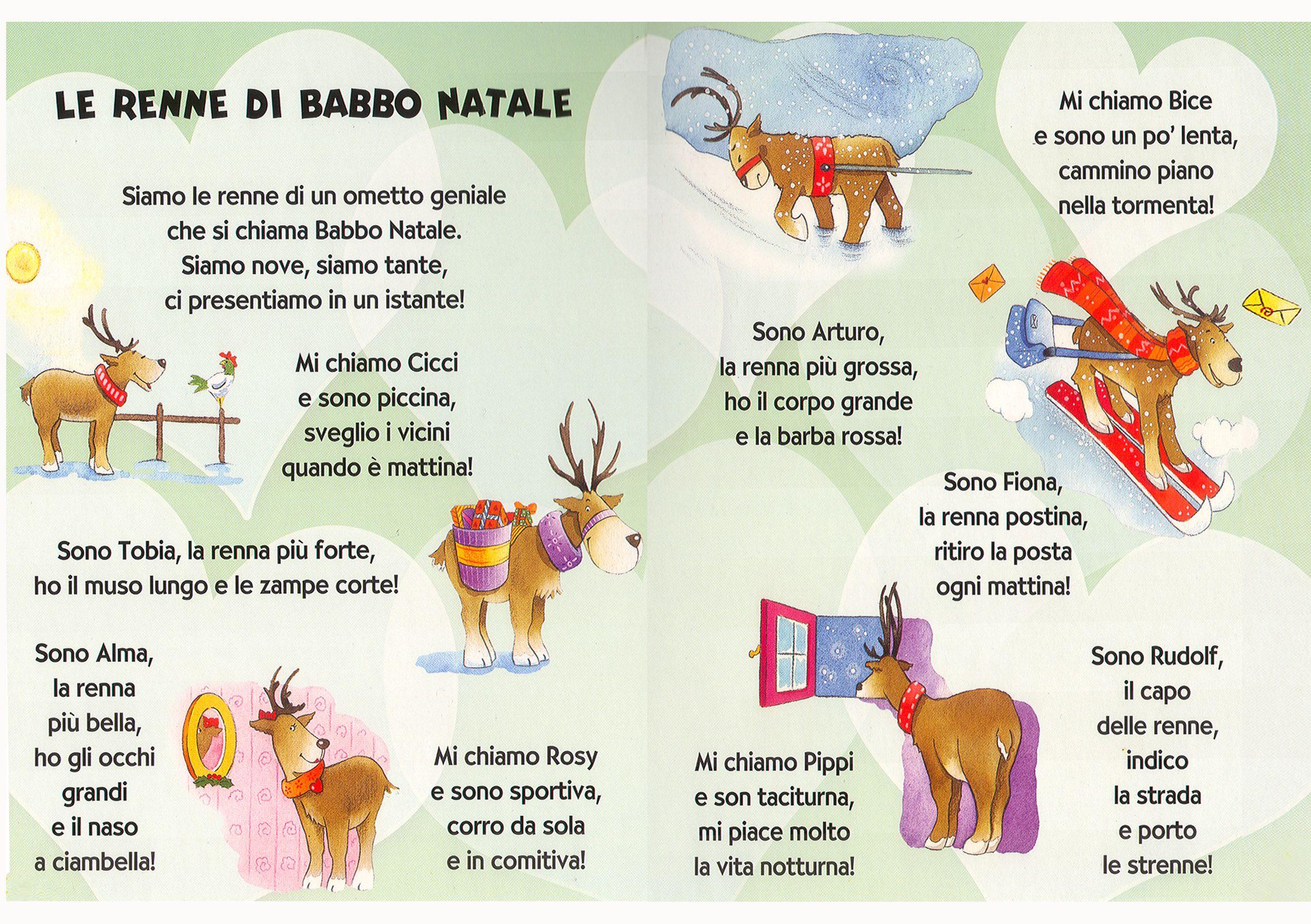 Le Filastrocche Di Natale Cd Dami Giunti Editore Libri Per Bambini