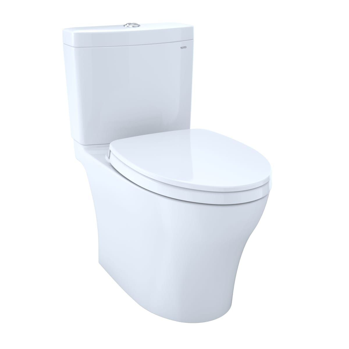 Toto Ms446124cemg 01 Cotton Aquia Iv Dual Flush 1 28 0 8 Gpf Two Piece Elongated Toilet Seat Included Hardware Fixtures Pinterest Toilet Bathroom