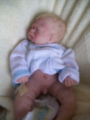 Solid Silicone Full Bodied Preemie Little Boy | eBay | Reborns ...