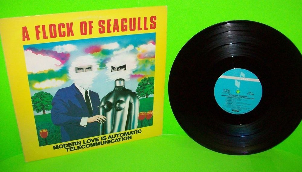 A Flock Of Seagulls Modern Love Is Automatic 12 Vinyl Record New Wave Synth Pop Aflockofseagulls Newwave Synthpop Synth Pop Vinyl Records Modern Love