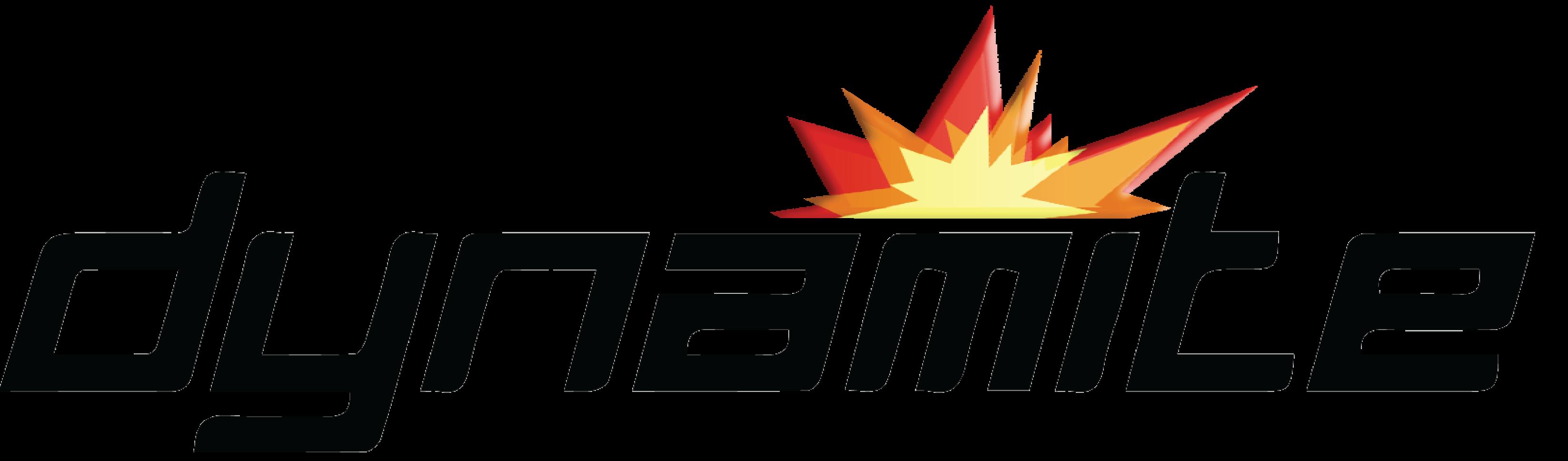 Team Dynamite Logo for NBC Created in Illustrator