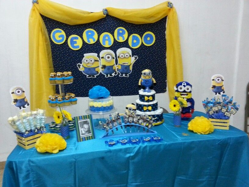 Minions Baby Shower Lauras Baby Shower Pinterest Minion Baby