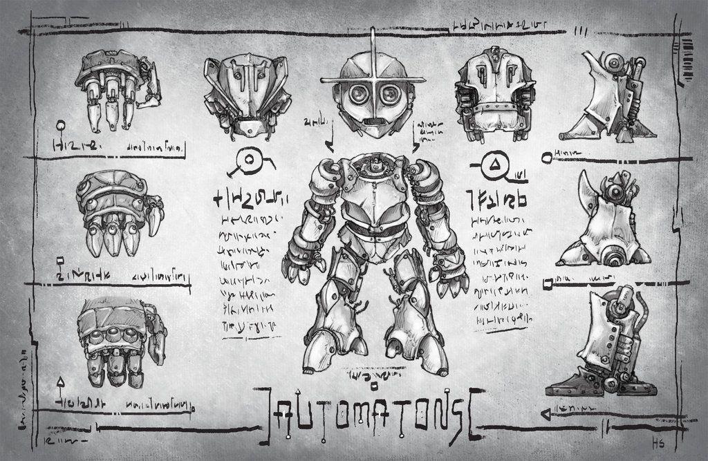 Quantum Races: Automatons by butterfrog.deviantart.com on @deviantART