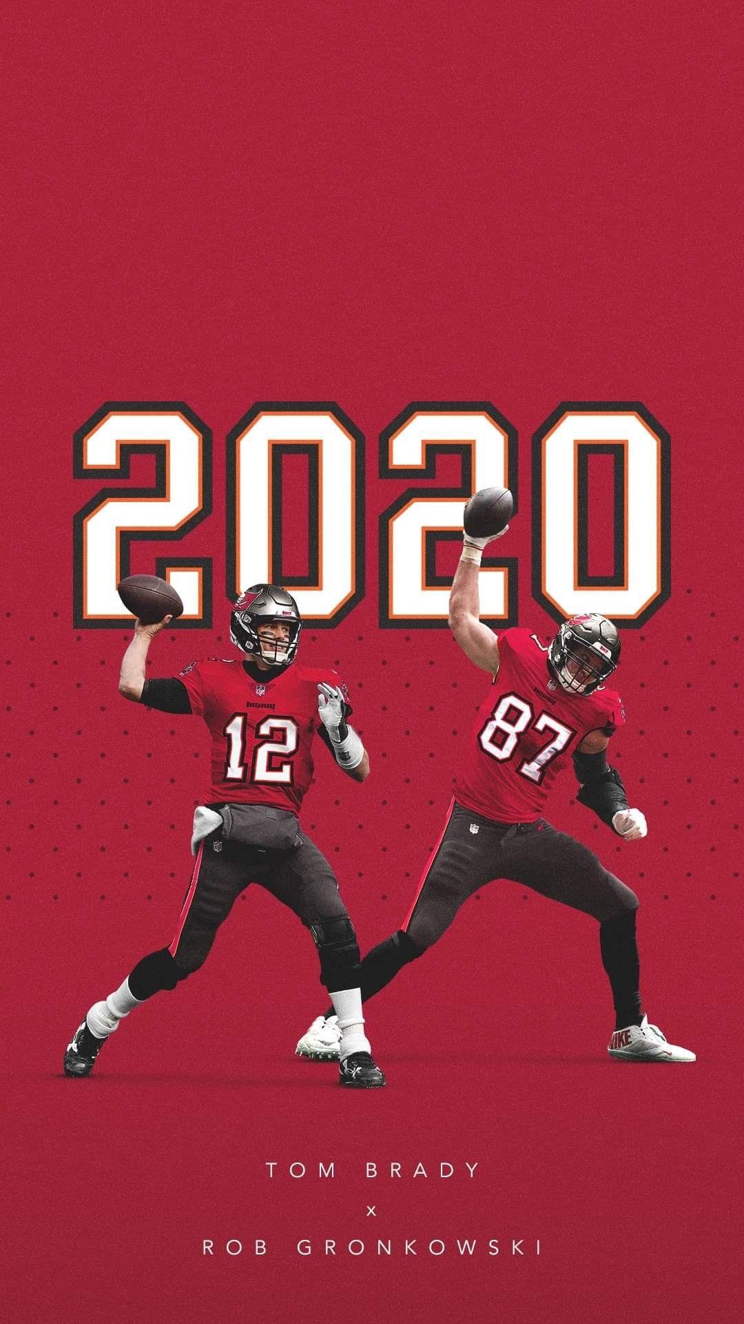 Tom Brady X Gronk 2020 Bucs Nfl Tampabay In 2020 Tom Brady Gronkowski Nfl Football Wallpaper