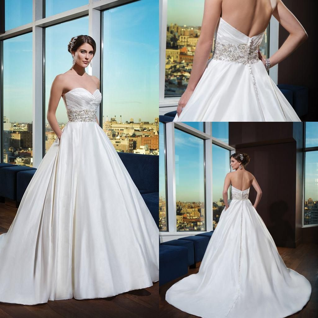 Wholesale 2015 Wedding Dress - Buy 2014 New Designer Sweetheart ...