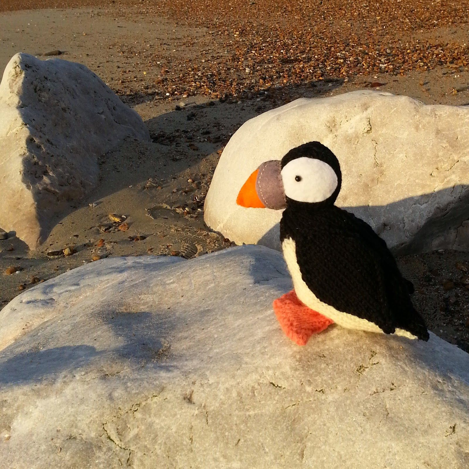 Knit for Victory: Puffin on the beach knitting pattern by Nicky ...