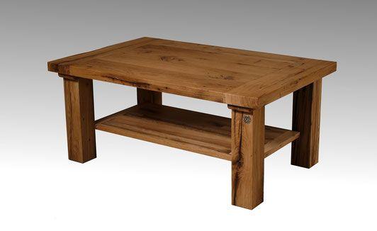 Couchtisch Eiche massiv Kamine Pinterest Tables - wohnzimmertisch eiche massiv