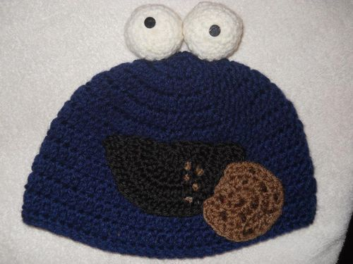 Knitting Idea Cookie Monster D Practical Easy Pinterest