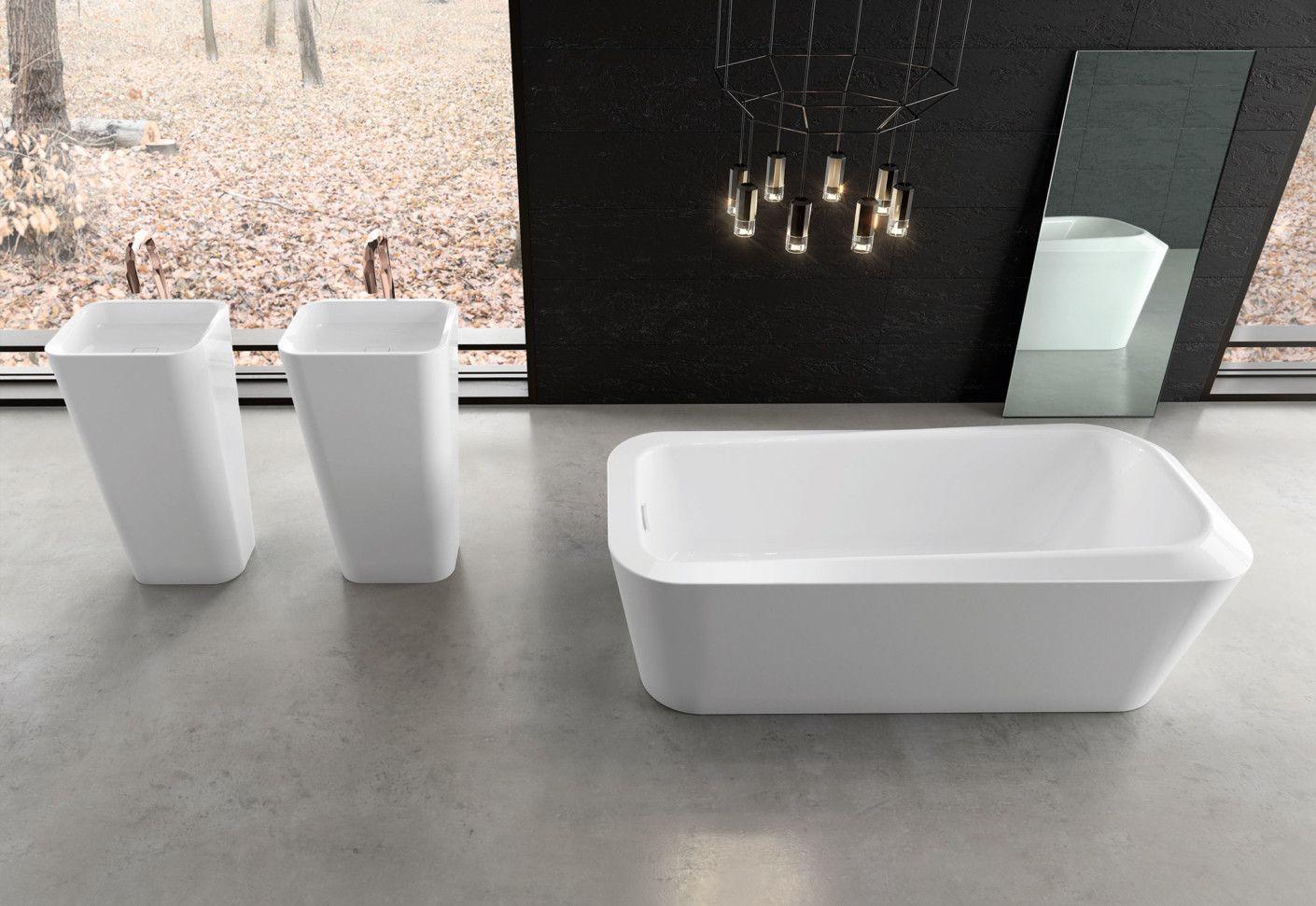 Masterpiece Emerso Bathtub By Kaldewei Stylepark Bathtub Design Bathtub Sink