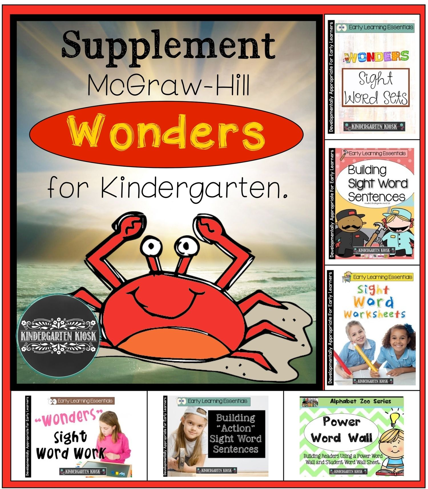 Mcgraw Hill Reading Wonders For Kindergarten With Images