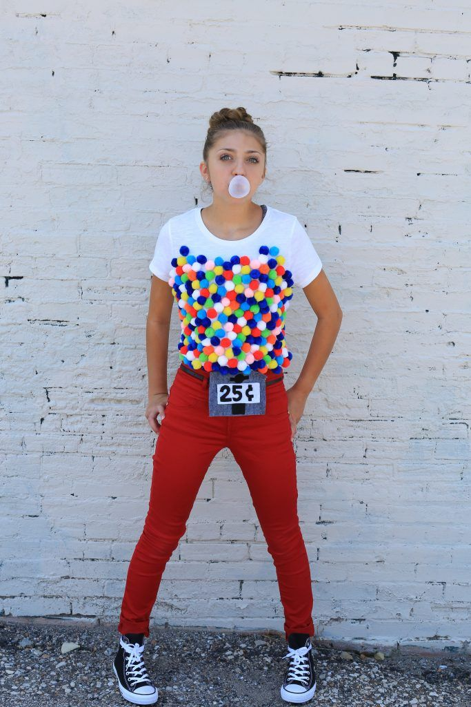 gumball machine costume kamri noel cgh - Halloween Outfits Pinterest