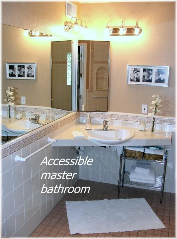 Handicap Bathroom Video On Facebook upgraded wheelchair accessible home in phoenix for sale | phoenix