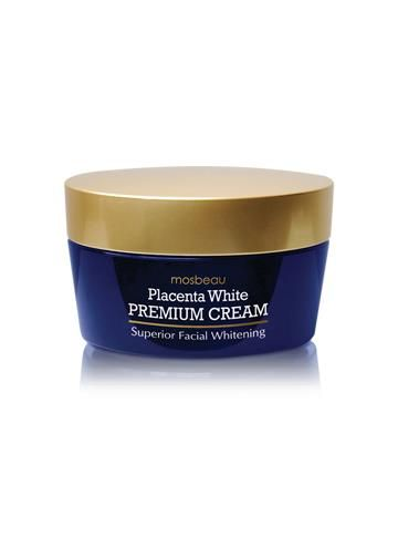 Premium (Authentic Mosbeau Placenta White Premium Facial Cream) - Your skin will look 10 years younger, guaranteed. Perfect for discerning women, the Mosbeau Placenta White Premium Cream is a high-end facial pampering that will impart a youthful glow. It's new & advanced formula is proven to make you feel and experience timeless beauty.