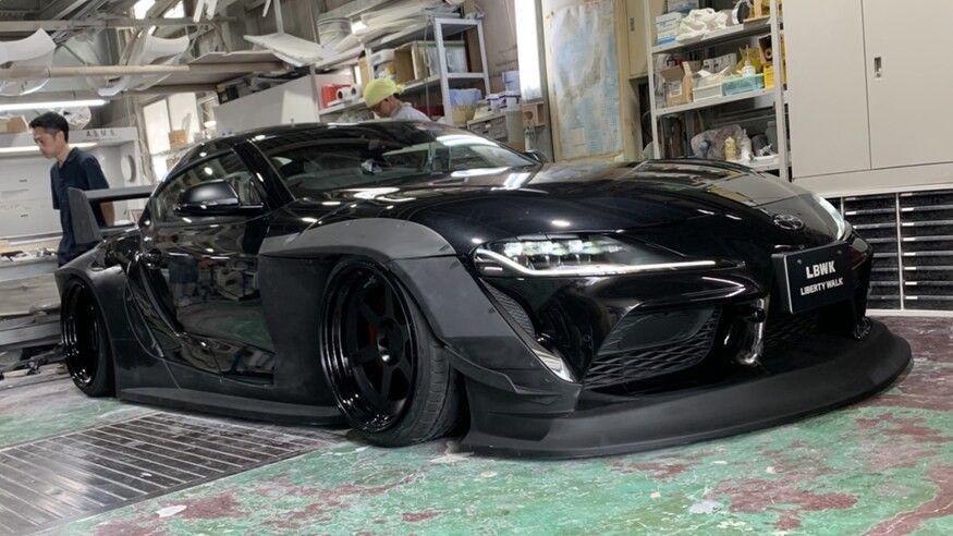 Photo of Toyota Supra se disfraza como auto de carreras gracias a este kit que supera los 300,000 pesos