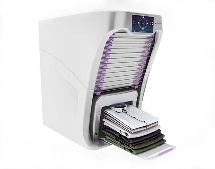 Robotic Laundry Folding Machine Gadgets Ideias