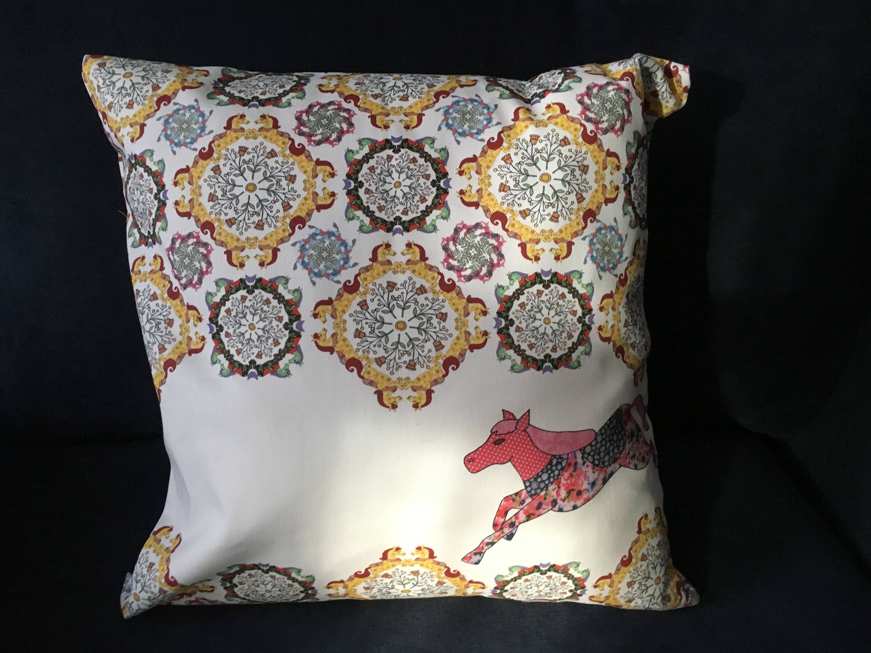 Pony chair cushion is a decorative pillows that we call horsing