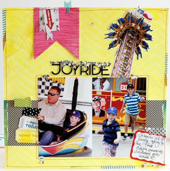 Joy Ride by Shannon Tidwell @2peasinabucket