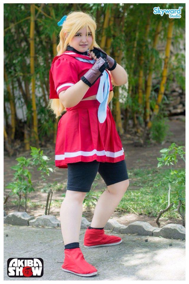 Personaje: Karin Kanzuki  Videojuego: Street Fighter Alpha 3
