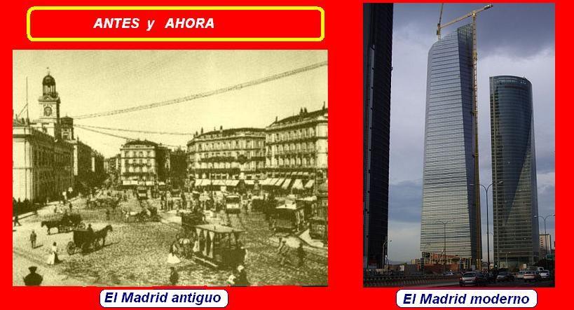 Madrid antiguo vs madrid moderno gram tica tiempos for Madrid moderno