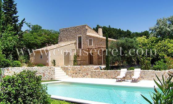 Maussane les Alpilles, location d\u0027un mas pour 6 avec vue et piscine - location vacances provence avec piscine