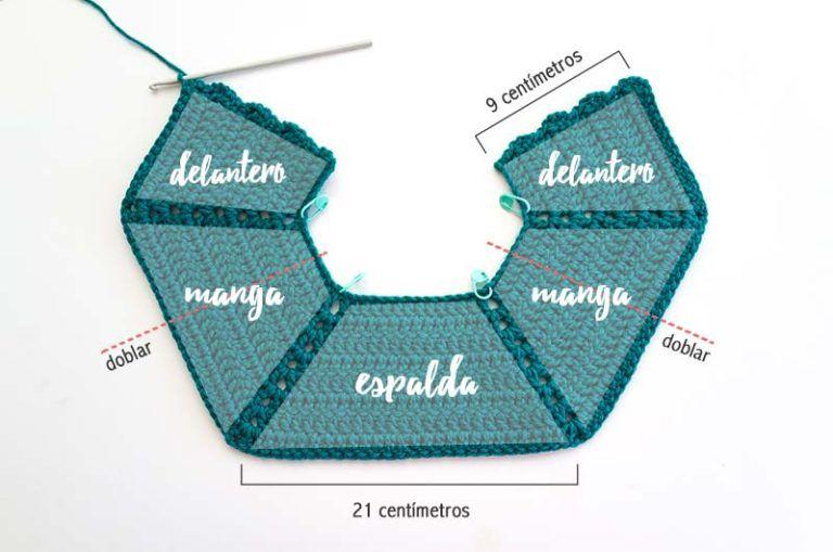 La Guia Definitiva Para Tejer Un Sueter Raglan A Crochet