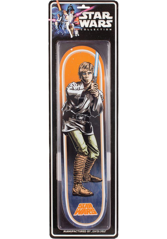 Santa-Cruz Star-Wars-Luke-Skywalker-Blister - titus-shop.com  #Deck #Skateboard #titus #titusskateshop