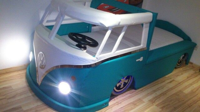 vw bus bett t1 bed handwerskunst selbst gemacht bulli bed. Black Bedroom Furniture Sets. Home Design Ideas
