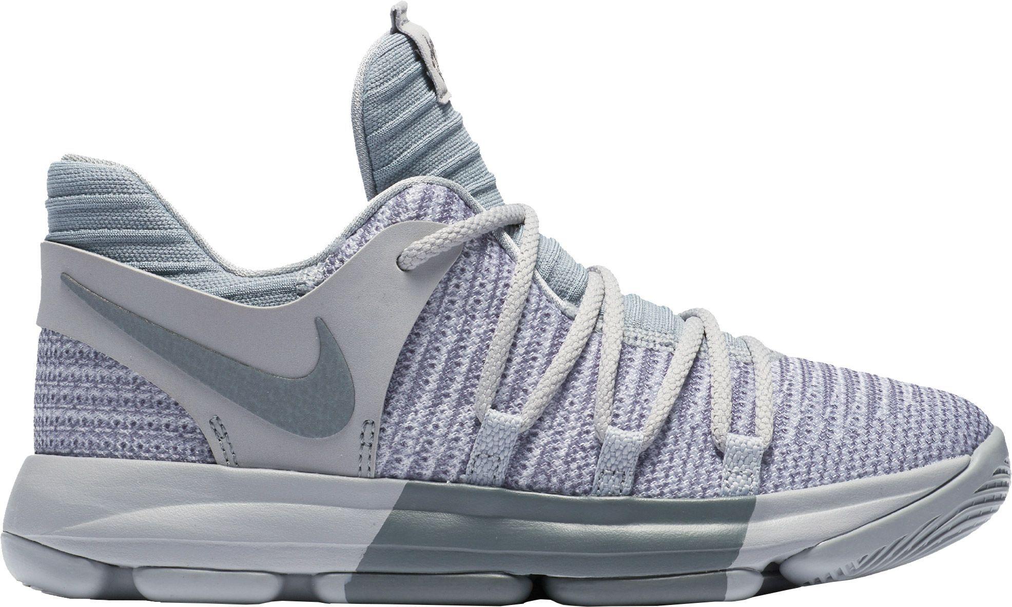 save off 813a3 c69b4 Nike Kids' Preschool Zoom KD 10 Basketball Shoes, Size: 11K ...