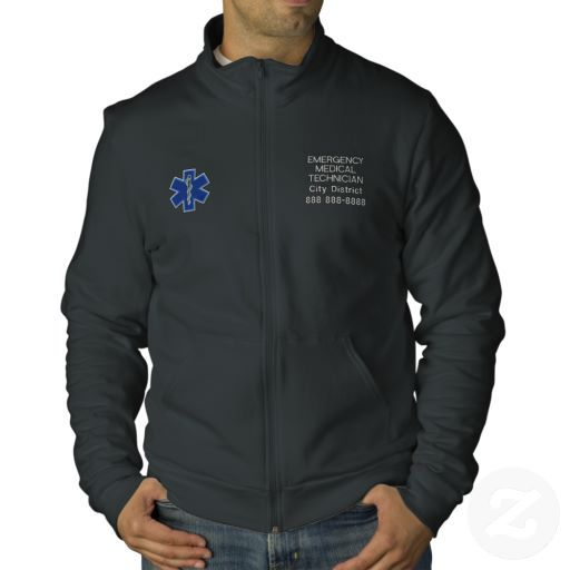 Personalized Emergency Medical Technician EMT Jacket. Emergency Medical  TechnicianEmbroidered ...