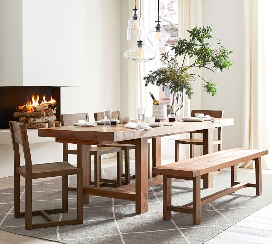 Reed Extending Dining Table Dining Room Small Extendable Dining Table Interior Design Dining Room
