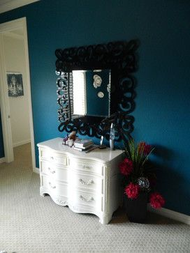 Sherwin Williams Really Teal Interiors Living