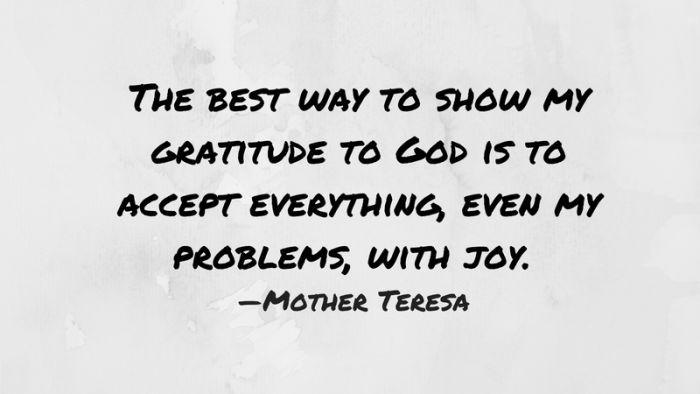 gratitude quote 30 mother teresa | Gratitude quotes ...