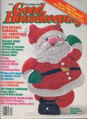 Good Housekeeping December 1983 Print Ads Magazine Covers Good