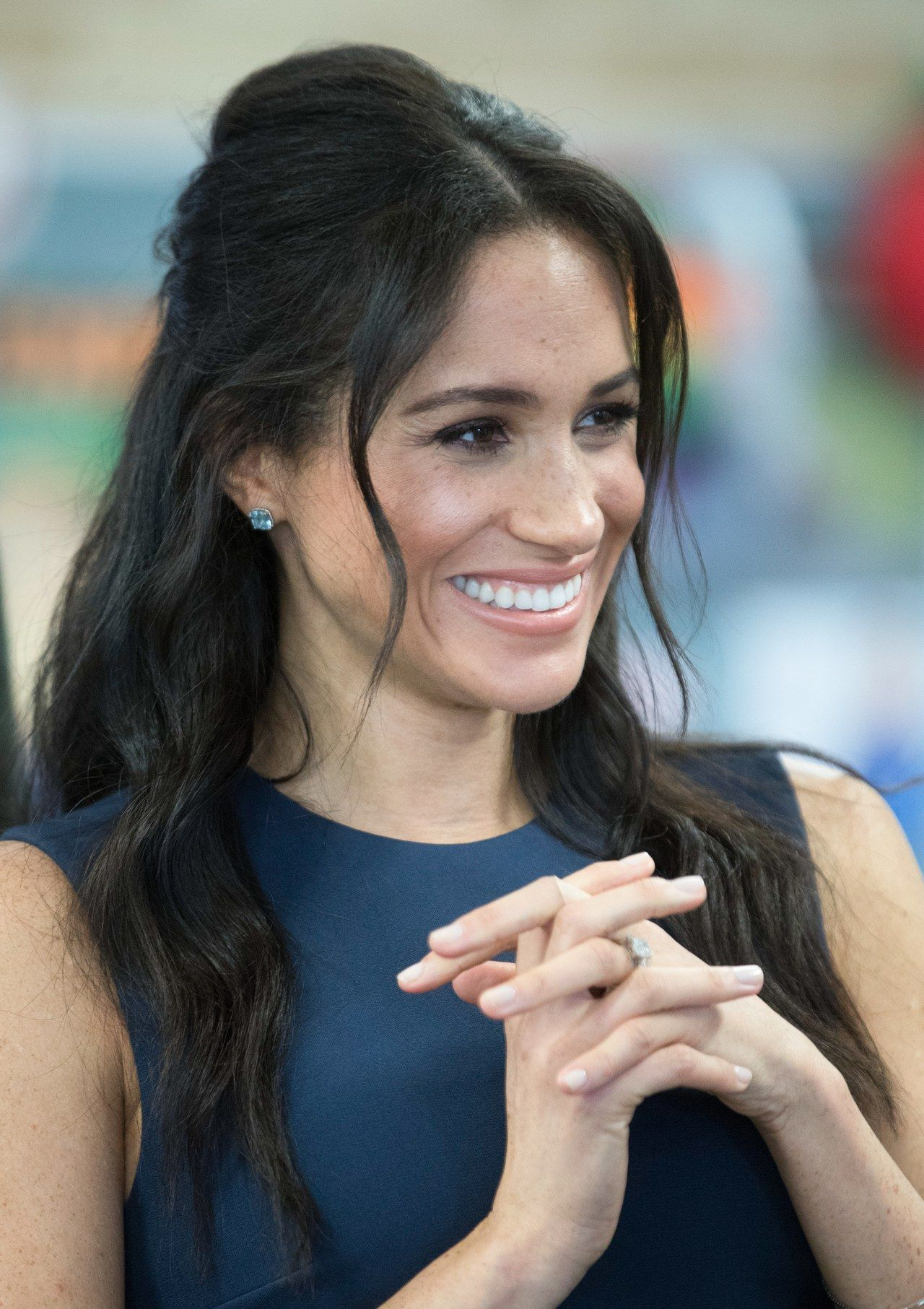 Meghan Markle Just Debuted A New Hairstyle And It S Very