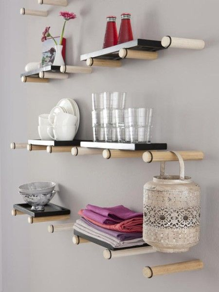 ein regal selber bauen hier kommen 13 ideen diy wood shelving and organizing. Black Bedroom Furniture Sets. Home Design Ideas