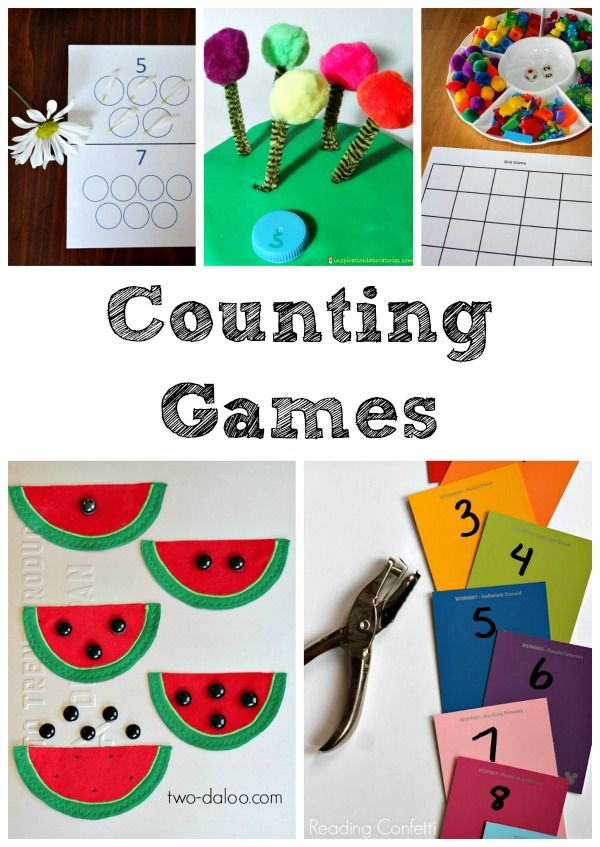 25 Fun Counting Games For Preschool And Kindergarten Math Activities Preschool Preschool Activities Math Activities Number activities for preschoolers at
