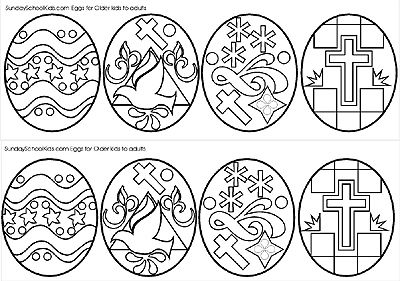 jesus easter coloring pages - religious easter activity sheets catholic activities