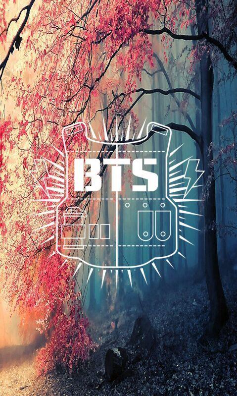 BTS logo lockscreen background | K-Pop Amino