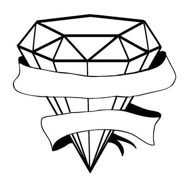 Simple Diamond Tattoo Design On Lower Back Liked On Polyvore Featuring Accessories And Body Art Diamond Tattoo Designs Diamond Tattoos Simple Tattoo Designs
