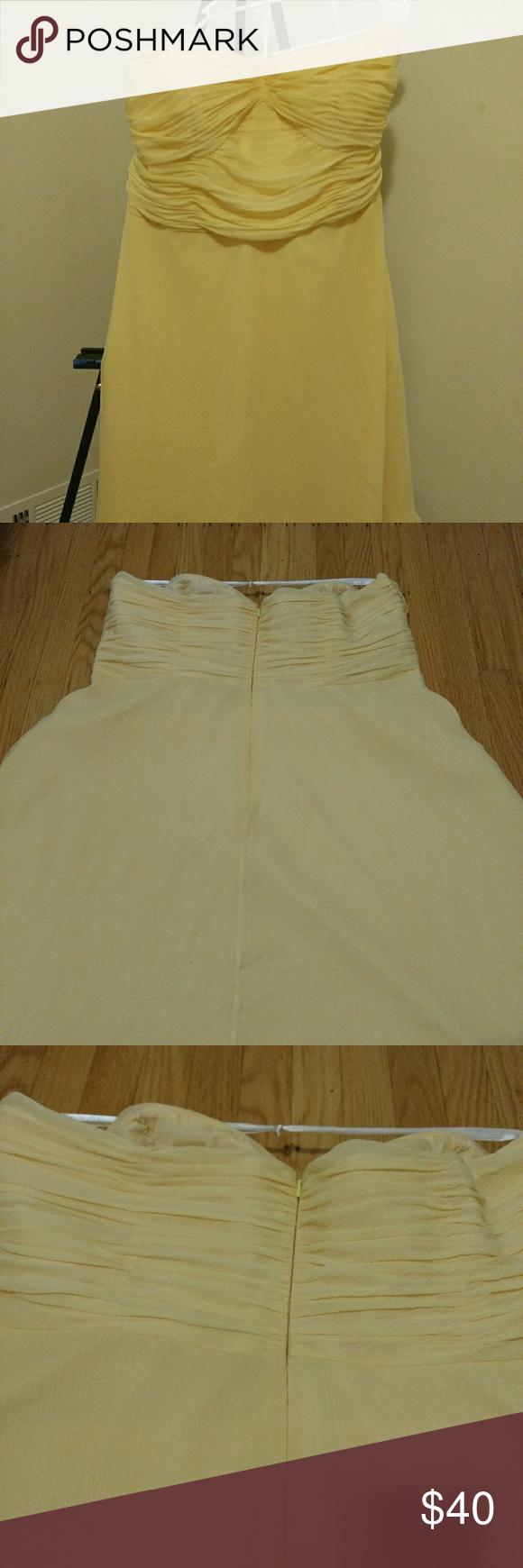Buttercup yellow cocktail dress my posh picks pinterest