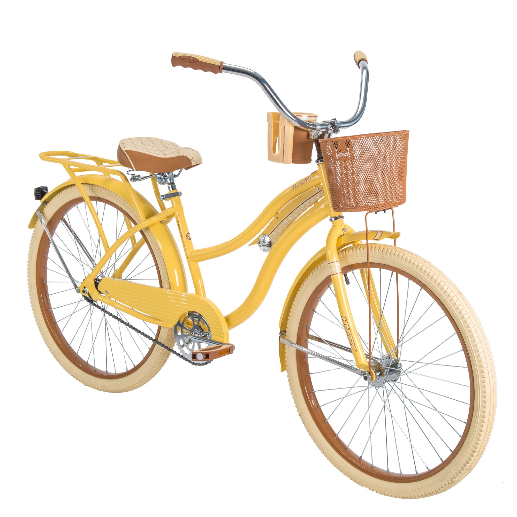 Women S Cruiser Bike With Perfect Fit Frame Yellow In 2020 Cruiser Bike Womens Bike Biking Diy