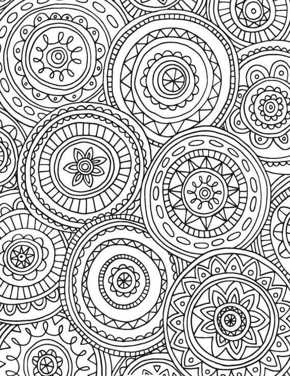 Libros de Colorear para Adultos | ADULT COLORING PAGES ...