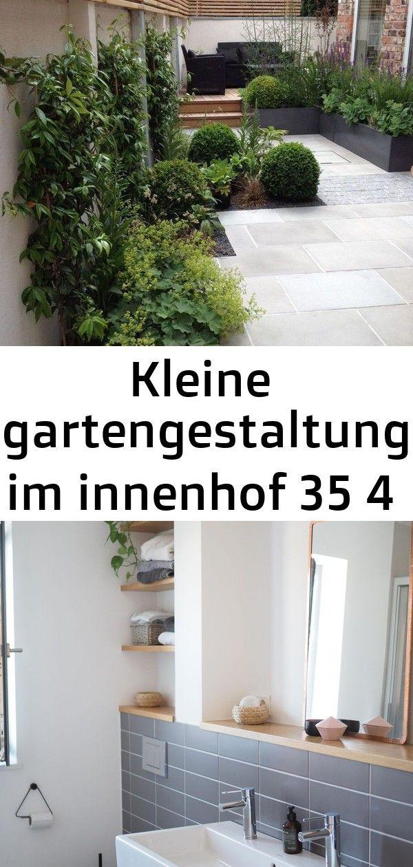 Kleine gartengestaltung im innenhof 35 4 #innenhofgestaltung