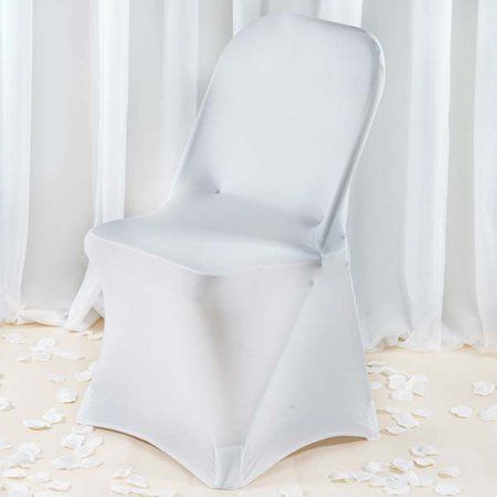Fantastic Commercial Grade Fitted Spandex Folding Chair Cover White Evergreenethics Interior Chair Design Evergreenethicsorg
