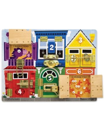 Melissa and Doug Melissa & Doug Latches Board & Reviews - Macy's