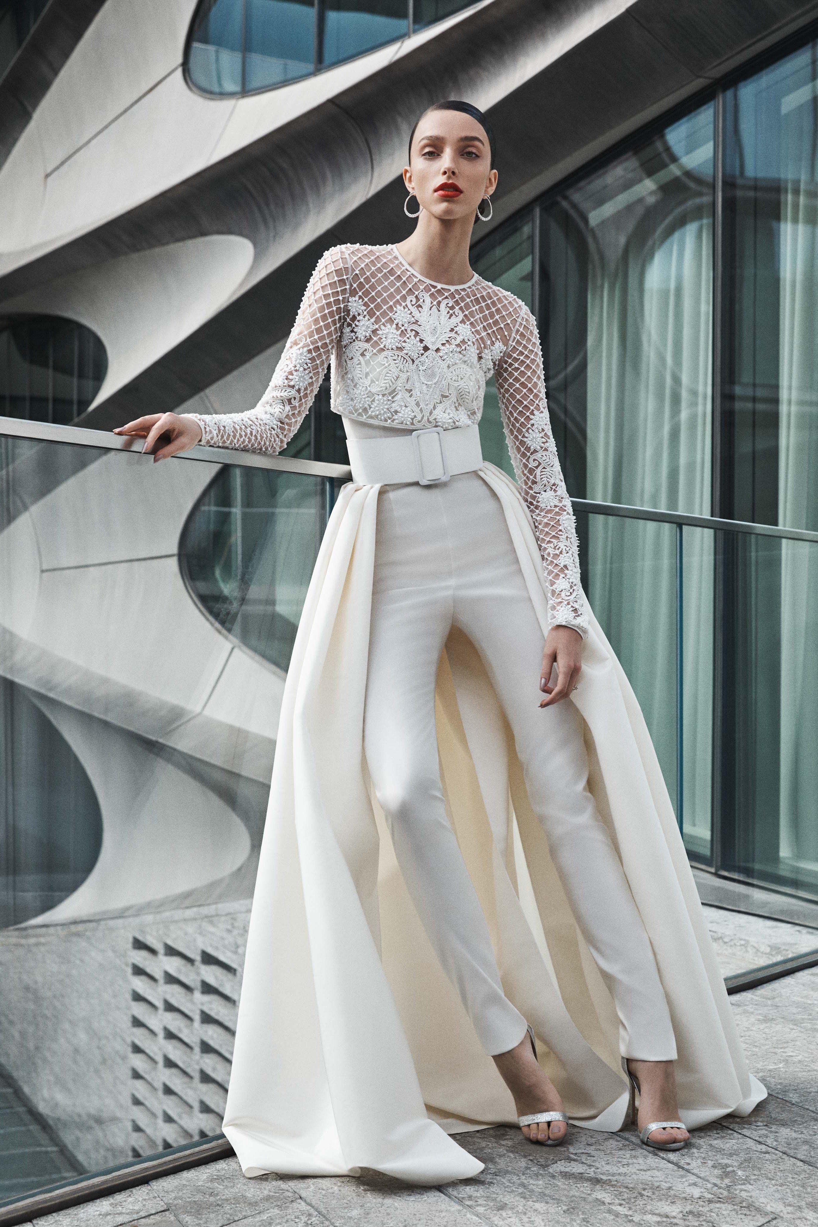 f7b0796ba315 Naeem Khan Fall 2019 Bridal Collection -  wedding  weddingdresses   wedding2019  bridalgown  bridal  sora2015