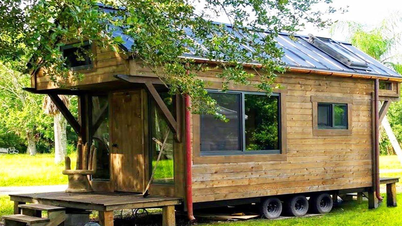 Gorgeous Beautiful Custom Craftsman Style Artistic Tiny House On Wheels Farm Style House Shed To Tiny House Tiny House On Wheels