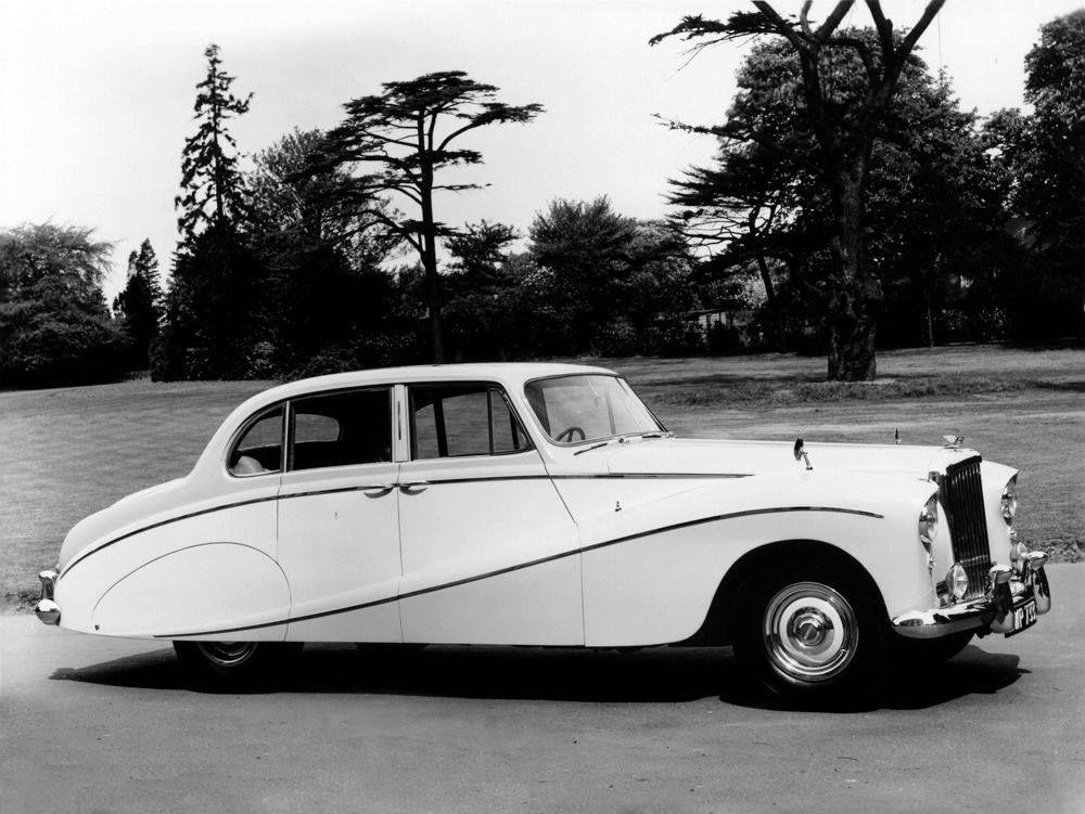 1956 Four-door Saloon Sweep-panel by Hooper (chassis B16BA, design 8443) for the Nawab of Bahawalpur