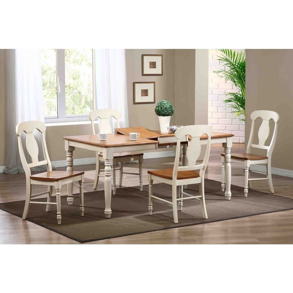 Iconic Furniture Biscotti Caramel Rectangle Dining Table - 48 inch wide rectangular dining table
